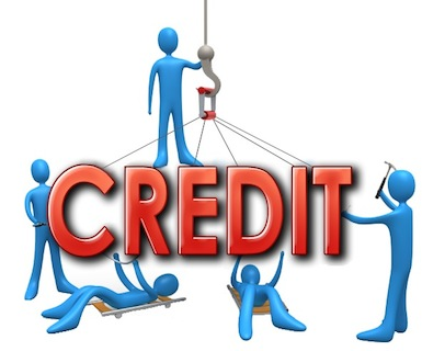 workers trying to build credit